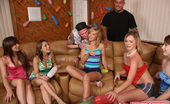 Spicy Roulette Horny And Naked Teens Playing Truth Or Dare