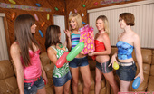 Spicy Roulette The Best Party Game Ever With 5 Teen Girls & Two Studs!