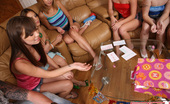 Spicy Roulette Amateur Teens Playing Truth Or Dare And Fucking At Birthday Party