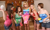 Spicy Roulette Teen Birthday Party With Funny And Crazy Group Sex Games