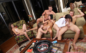 Spicy Roulette Wild Group Sex Game With Sexy Tanner, Alexis Capri & Other Teen Girls