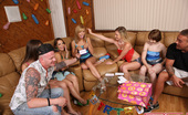 Spicy Roulette Chastity Lynn'S Birthday Party Turns Into Wild Fuck Session