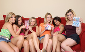 Spicy Roulette Nine Amateur Enthusiasts Record On Video Their First Sex Game Experience