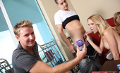 Spicy Roulette SIX College Teens Fucked And Covered With Cum By 3 Lucky Studs