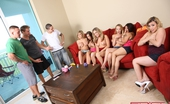 Spicy Roulette Nine People In Total Fucking At Swinger Group Sex Party At Home