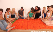 Spicy Roulette Six Hot Euro Girls Playing A Party Game And Get Fucked On Camera