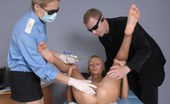 Special Examination Two Customs Agents Inspecting A Nude Girl