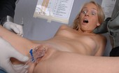 Special Examination Tight Military Pussy Attacked By Two Gynecologists