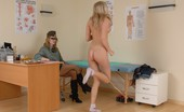 Special Examination Blondie Passes Thru A Sporty Military Physical