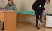 Special Examination Creepy Nude Exercises At A Military Physical Exam