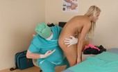 Special Examination Pushy Male Doctor Inspects A Naked Blondie