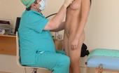 Special Examination Naked Brunette Goes Thru A Med Examination
