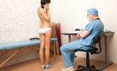 Special Examination Medical Pervert Examines A Scared Brunette
