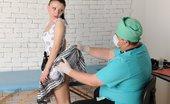 Special Examination Exhausting Nude Exercises Before Nasty Rhino Exam