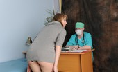 Special Examination Gynecologist Frightens His Patient With Dirty Fetish Procedures