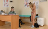 Special Examination Some Nude Exercises Done At A Military Checkup