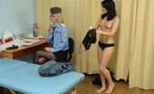 Special Examination Customs Perverts Examine And Toy-Stuff A Babe