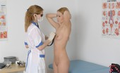 Special Examination Edgy Sports Girl Passes Thru A Nude Checkup