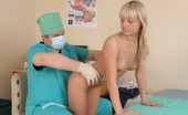Special Examination Blondie Receives A Head-To-Toe Med Examination