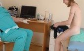 Special Examination Absolutely Naked Chick Undergoes A Total Checkup