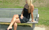 Stiletto Girl A Tight Black Dress And Matching Heels Cover This Babe