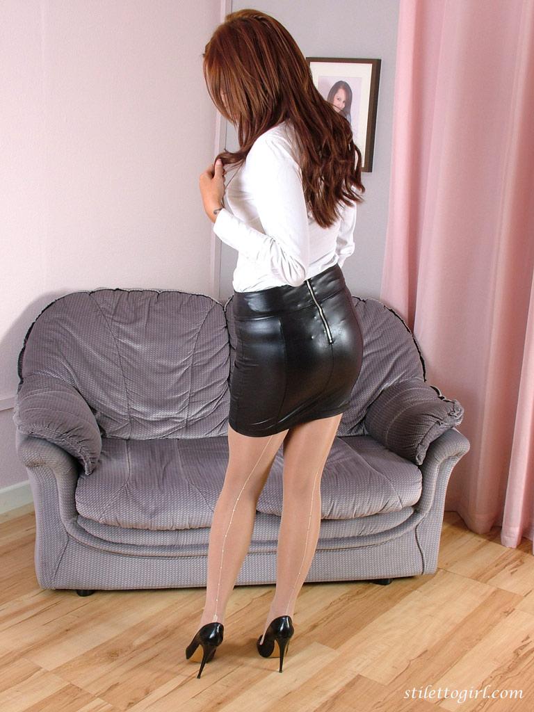 The tight skirt sluts goodness