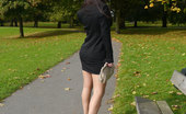 Stiletto Girl Leggy Imelda Takes A Break From Her Busy Working Day And Takes A Stroll In The Park Wearing Her Gorgeous Stilettos