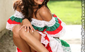 Barefoot Confidential Daisy 231076 Daisy Is A Latina With Luscious Long Feet And A Playful Attitude That Makes You Yearn To Worship Them. See Daisy Cheerfully Flirt While Removing Her Spanish Attire. Keeping Your Gaze Fixed Upon Her Feet As Daisy Has Her Pussy Pleasured Along With Her Feet