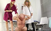 Medical Femdom Male Genitals In The Medical Femdom Hands