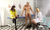 Medical Femdom Strong Guy Suppressed By Vicious CFNM Nurses