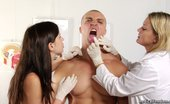 Medical Femdom Dangerous CFNM Medical Beauties Dominate A Man