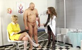 Medical Femdom Strong Male Toy Of Vicious Medical Dommes