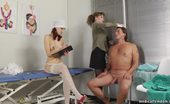 Medical Femdom Medical Dommes Overpower A Muscular Guy
