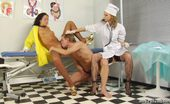 Medical Femdom 231634 Despotic Female Doctors Torture A Nude Guy