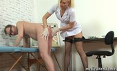 Medical Femdom Male Geni Exam And Milking By A Mad Nurse