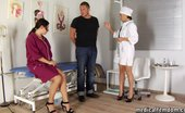 Medical Femdom Body And Genital Exam Of A Subdued Bodyguard