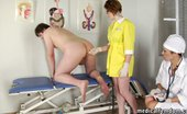 Medical Femdom Beefy Slave Of Medical Bitches Ready For Crazy Exam
