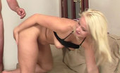 Meet My Sweet Shaved GF Pussy Fucked By His Dad His Girlfriend Gets Naked With His Parents And They Have A Hot Hardcore Threesome