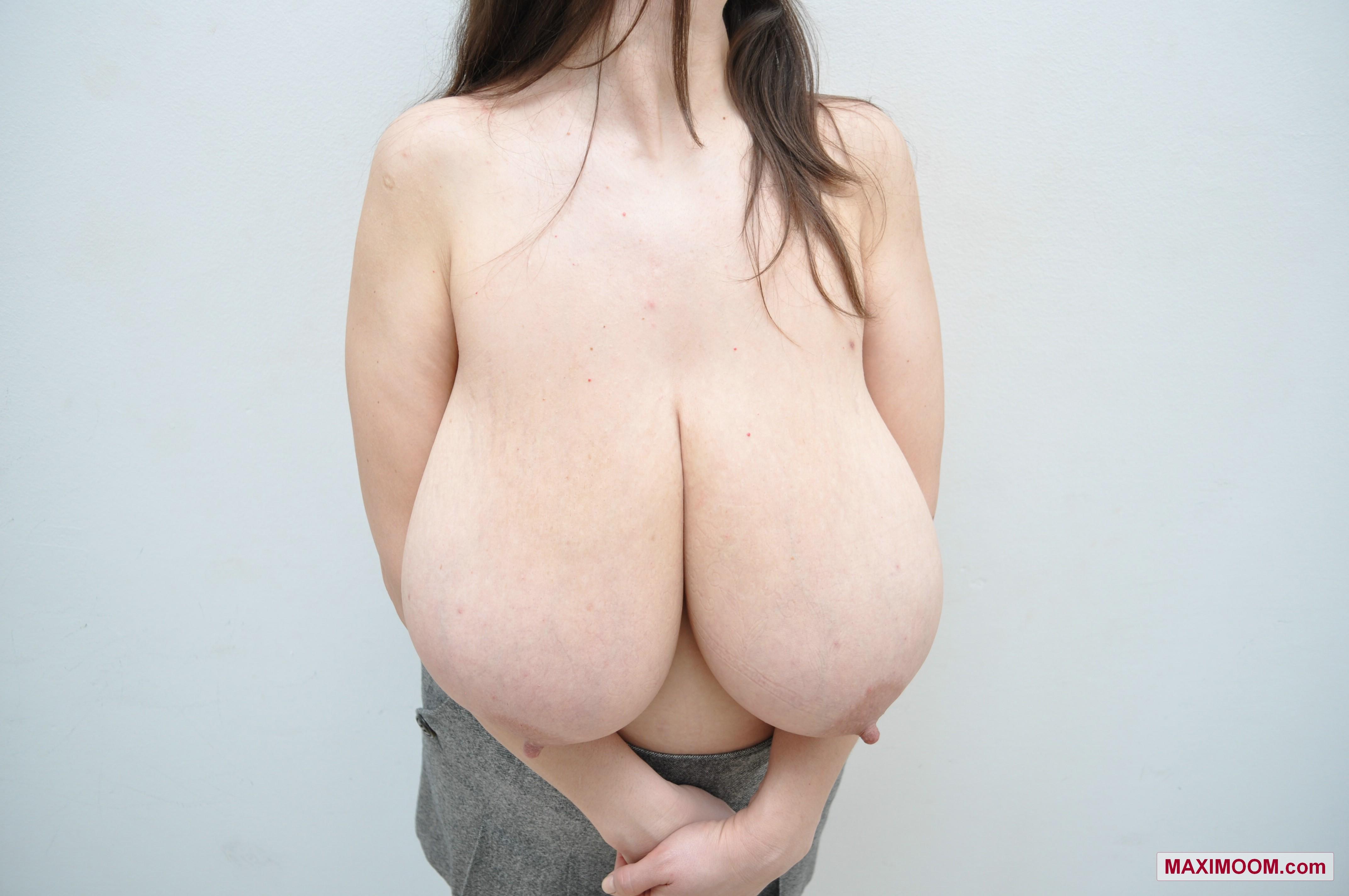 Tits slim body big slim stacked