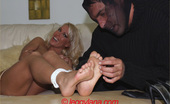 Leggy Lana 232272 A Burglar Ties Me Up And Gives Me A Tickle Torture And Uses My Feet For A Foot Wank Before Escaping