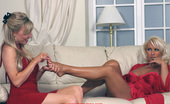 Leggy Lana Lana Invites Her Friend Saffy Over For Some Kinky Fun