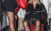 Leggy Lana Lana Gets Tied Up And Fucked By A Gorgeous Lesbian