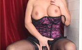 Leggy Lana Hot Blonde Milf Leggy Lana Satisfies Her Pussy With Huge Black Toy