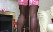 Leggy Lana Dressed Up For A Party And Feeling Very Horny, Leggy Lana Invites Her Driver In And Then Sucks Him Dry