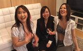 Kobe Surprise Three Asian Sluts Sucking On Cock!
