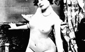 Vintage Classic Porn Several Twenties Stocking Ladies Showing The Natural Goods