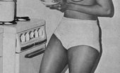 Vintage Classic Porn Black Sixties Ladies Showing Their Fine Natural Goodies