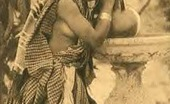 Vintage Classic Porn Ethnic Vintage Ladies Showing Their Cute Natural Bodies