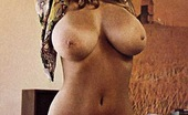 Vintage Classic Porn Sweet Roberta Pedon Showing Her Big And Natural Mellons