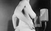 Vintage Classic Porn Several Retro Ladies With Nice Big Asses Showing It All